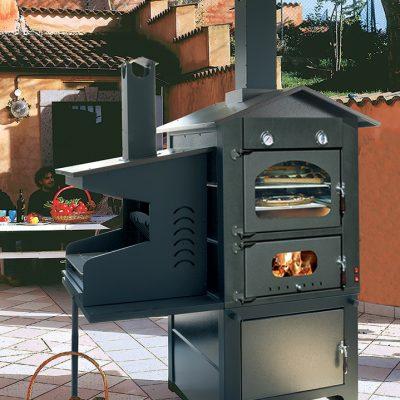 Forni acciaio archivi vibrok - Barbecue a legna da esterno ...